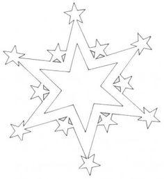 Вытынанки звезды | Вытынанка