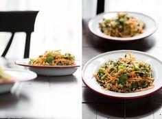 Quinoa Black Bean Salad with Cumin dressing