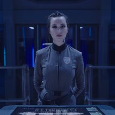 """""""Much like the universe, their badassery knows no limits. The Expanse Tv, Dune Frank Herbert, Warrior Within, Androgynous Hair, Dystopian Fashion, Sci Fi News, Edgy Haircuts, Sci Fi Tv Shows, Best Sci Fi"""