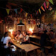 Design Bar Restaurant, Paris, Tropical, Dinner, Friends, Painting, Hail Mary, Suppers, Boyfriends