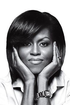 Michelle Obama - what a great picture