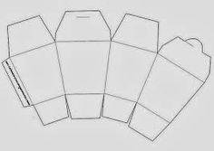 Resultado de imagem para moldes de caixa milk