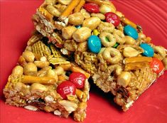 Sweet and Salty Cereal Bars