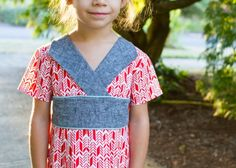Oliver + S Library Dress sewing pattern