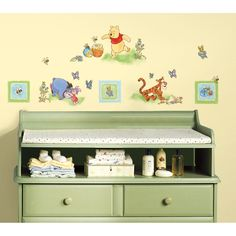 Pooh Bear Wall Decals