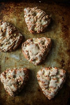 Apple Cinnamon Scones- Gluten Free and Vegan from HeatherChristo.com