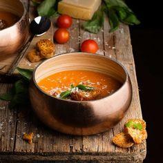 Sopa de tomate-Los Tragaldabas
