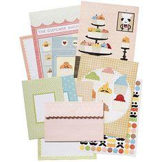 Cupcake Shoppe Stationary Set from paper-source.com