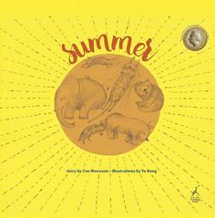A story about a group of animals competing to find shadow in the summer heat. Illustrated by Yu Rong.