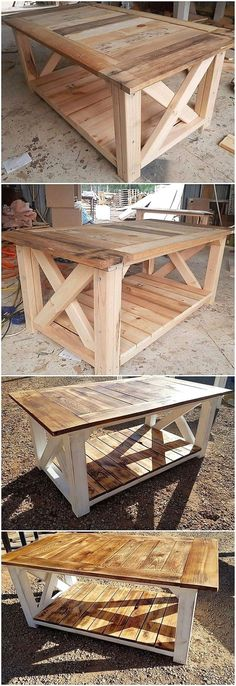 Epic Wood Pallet Ideas and Projects You Can Try Today!, Diy And Crafts, Much elegant form of the wood pallet table work has been created at the best here that is giving out the impression of being so modern and much design. Diy Pallet Furniture, Diy Pallet Projects, Pallet Ideas, House Furniture, Furniture Ideas, Diy Furniture Plans Wood Projects, Diy Projects With Wood, Best Diy Projects, Beginner Wood Projects