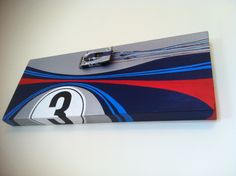Porsche 917 K Martini canvas by the Auto-Racing studio St Ives £175.00