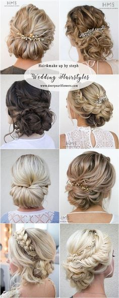 Hairandmakeupbysteph wedding updo hairstyles #BeautifulWeddingHairStyles #weddinghairstyles