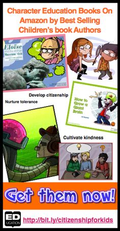 Do you want to inspire kids to become global citizens? Check out this great find! There are 11 children's books that focus on citizenship for kids! http://www.ed-ucation.ca/character-education-set---ib-learner-profile.html