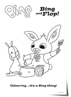 bing bunny cbeebies coloring pages Bunny Coloring Pages, Printable Coloring Pages, Coloring For Kids, Coloring Pages For Kids, Coloring Sheets, Coloring Books, Bunny Party, Elmo Party, Colors