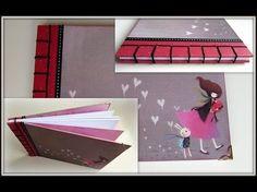 Tutorial encuadernación en espina ( Álbum Scrapbook) - YouTube Japanese Stab Binding, Bound Book, Book Binding, Scrapbook Albums, Creative Crafts, Paper Crafts, Make It Yourself, Youtube, Videos