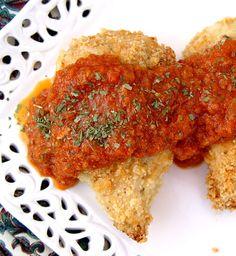 Crispy Parmesan and Garlic Chicken
