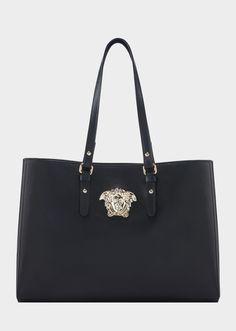 aa49411d862 Versace Vitello Palazzo Tote for Women   US Online Store. Vitello Palazzo  Tote from Versace