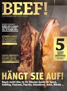 Zeitschrift BEEF! für 60,00€ mit 20,00€ Verrechnungsscheck abonnieren