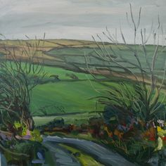 """Irish landscape """"Down to Clasheraggy"""", oil on Anastasia O Donoghue Healy,can be viewed at Greenacres Art gallery Wexford town,Ireland Wexford Town, Irish Landscape, Anastasia, Ireland, Art Gallery, Oil, Board, Artist, Painting"""