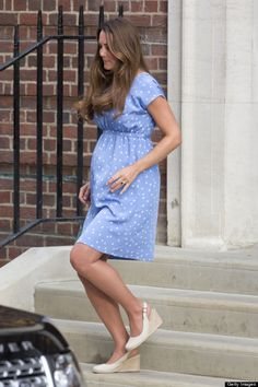 Kate Middleton Baby   Kate Middleton Debuts Post-Baby Body One Day After Giving Birth ...