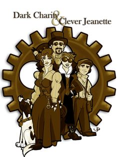 Dark Charity & Clever Jeanette | MacGregor Investigations | www.spottedhound.blogspot.com