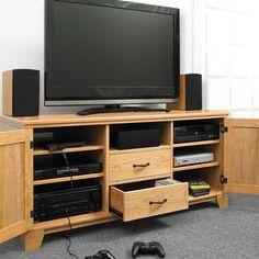 Flat-Panel TV Entertainment Center Woodworking Plan by Woodcraft Magazine