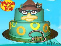 torta de phineas y ferb fondant - Google Search