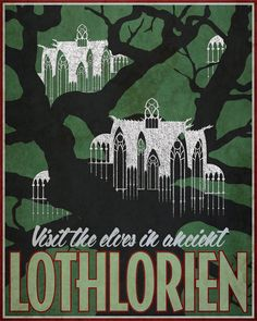 Middle Earth Travel posters