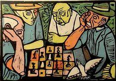 "Irving Amen  ""Chess Players""  The Chess Art Thread - Chess.com"
