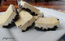 Gluten Free Dairy Free Oreo Cheesecake Squares