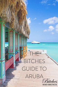 Bitches went to Aruba. Here is where you should eat, stay, and play. Barbados, Vacation Destinations, Dream Vacations, Vacation Spots, Vacation Packing, Cayman Islands, Belize, Aruba Honeymoon, Aruba Cruise Port