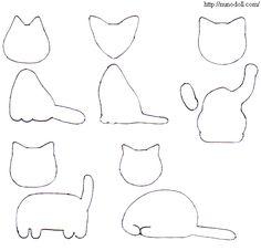 Mini Cats pattern  http://craft.nunodoll.com/cat/mini.gif
