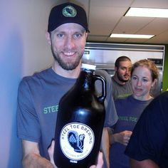 Happy 5 year birthday to @steeltoebrewing. We're happy to say we knew you way back when you just a newborn!