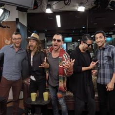 Thirty Seconds To Mars at The Huffington Post in New York 2013 Thirty Seconds, 30 Seconds, Mars News, Shannon Leto, Jared Leto, Cool Bands, Eye Candy, This Or That Questions, Live