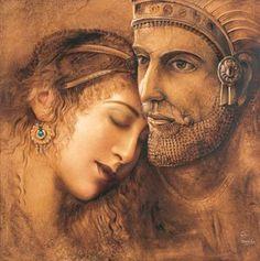 Persian King & Queen