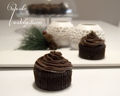 Muzlu Çikolatalı Cupcake