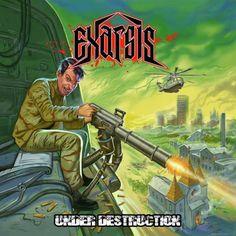 """[CRÍTICAS] EXARSIS (GRC) """"Under destruction"""" CD 2016 - Reedición (Punishment 18 Records)"""