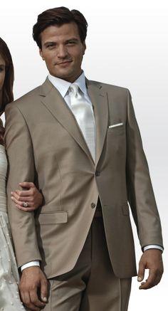 Tan Groomsmen Suit (Rental)