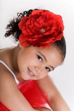 flower n her hair