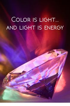 Color is light and light is energy Old Fashioned Words, Rainbow Connection, Inspiring Quotes, Engagement Rings, Create, Color, Life Inspirational Quotes, Enagement Rings, Wedding Rings