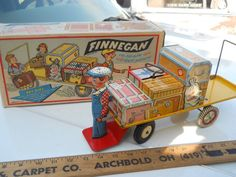 Unique Art Finnegan  Wind up tin toy from 50s  ebay