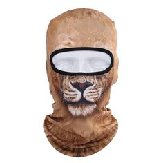 Exotic Animal Face Ski Masks