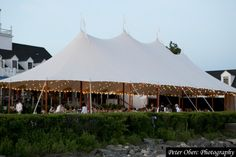 tented wedding at the Riverside Yacht Club @peteroberc #riversideyachtclub #ctwedding #yachtclub #tentedwedding #peterobercphotography #preppywedding #nauticalwedding #anchorsaway