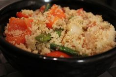 Couscous Asparagus Tabouli. Great for lunch or add chicken or salmon for a yummy dinner!