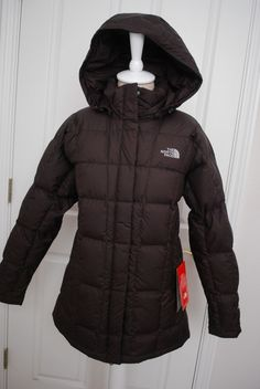 NWT THE NORTH FACE WOMENS CAROLINA JACKET PARKA DOWN PUFFER BROWN SIZES #TheNorthFace #Parka