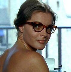 """Romy Schneider in Claude Sautet's """"Les choses de la vie"""" 1969"""