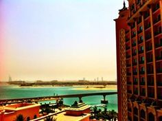 view from mba din's room at Altlantis Hotel The Palms #dBCNinDubai #OriflameGC2013