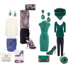 """""""Soft Dramatic Soft Summer 4"""" by christinems on Polyvore"""
