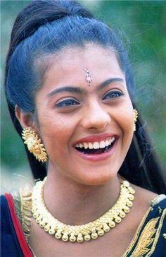 Kajol Devgan is an Indian film actress who predominantly works in Hindi cinema Bollywood Makeup, Indian Bollywood Actress, Beautiful Bollywood Actress, Indian Film Actress, Most Beautiful Indian Actress, Bollywood Stars, Indian Celebrities, Bollywood Celebrities, Kajol Image