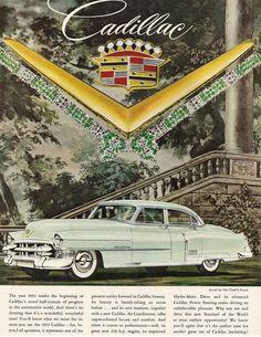 1953 Cadillac #Cadillacclassiccars